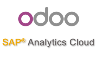 Logo Odoo et SAP Analytics Cloud