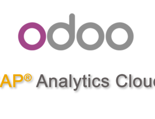 Being able to consume Odoo in SAP Analytics Cloud